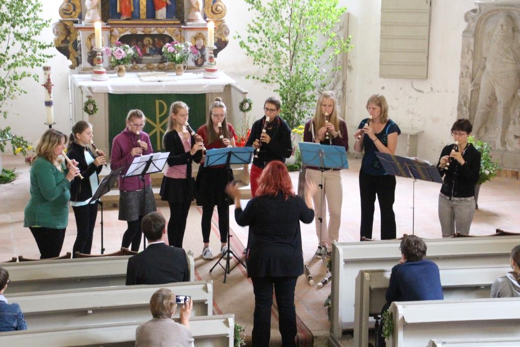 Flötenensemble der Marienkirche Großenhain