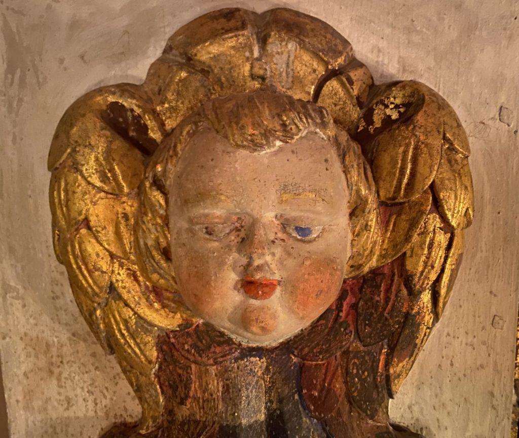 Engel Altar Kirche Lenz