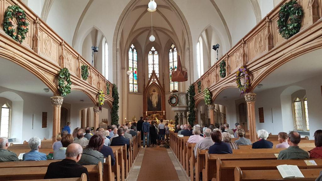 Innenraum Kirche Wantewitz